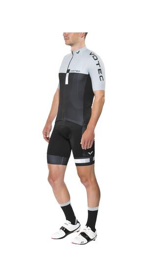 VOTEC EVO Race miesten pyöräilypaita, lyhyt, harmaa/musta